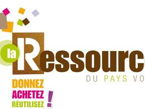 logo ressourcerie La Buisse