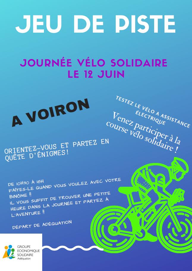 Jeu de piste Vélo Solidaire Adéquation