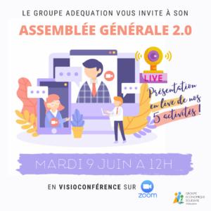 ASSEMBLÉE GÉNÉRALE 2.0 !